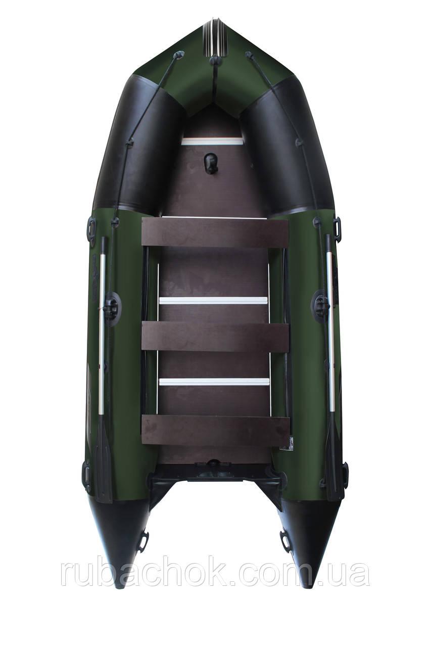 Човен надувний моторний Аквастар K-430