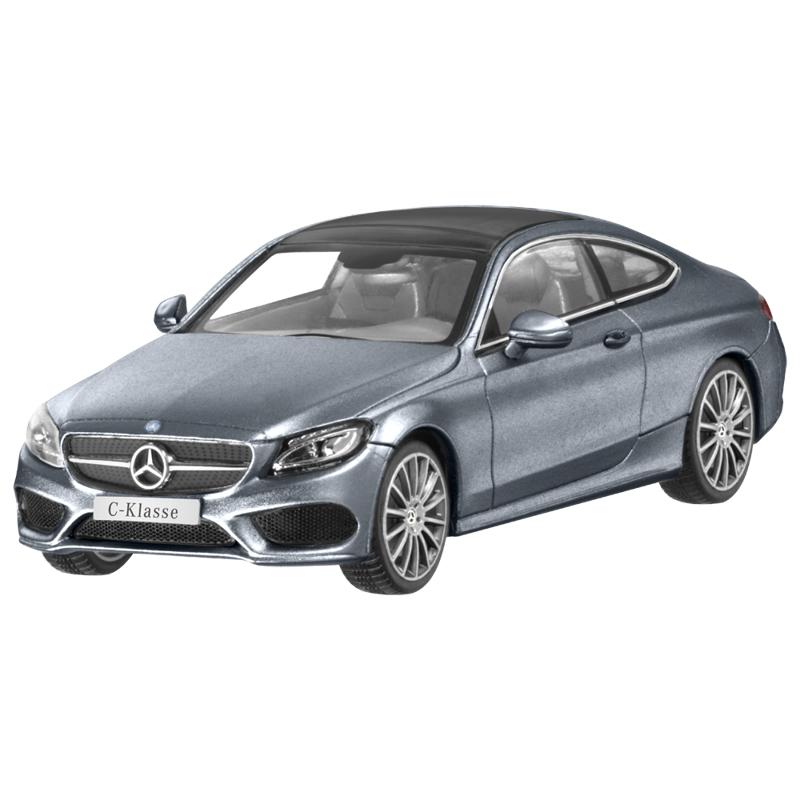 Модель Mercedes-Benz C-Class Coupe (C205), Scale 1:43, Selenite Grey Metallic, артикул B66960530