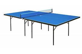 Теннисный стол для помещений GSI-sport Hobby Strong Gk-1s blue/Gp-1s green