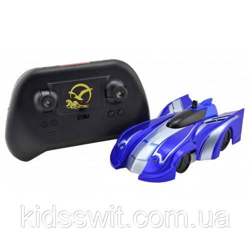 Радіокерована іграшка CLIMBER WALL RACER Антигравітаційна машинка Синій