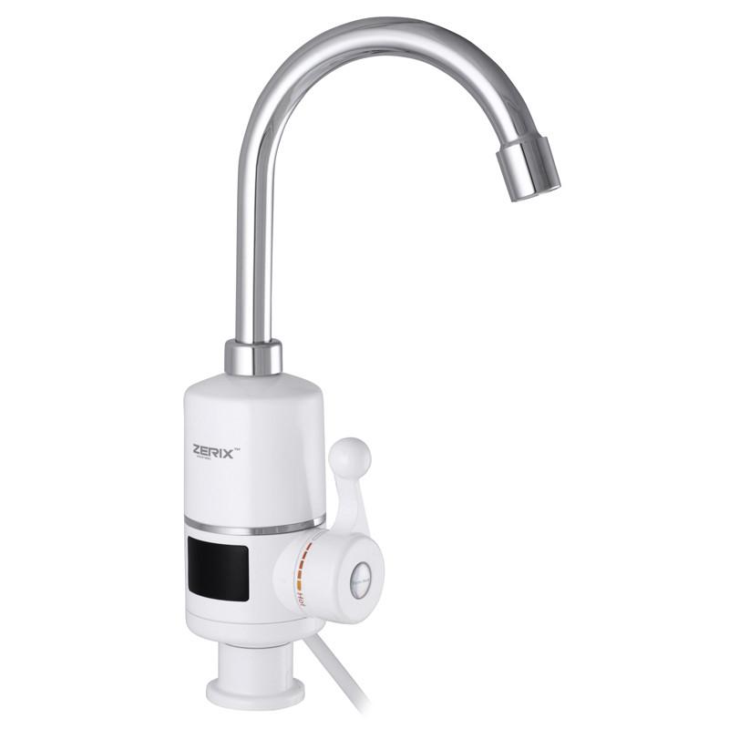 Проточный водонагреватель ZERIX ELW06-E (ZX3074)  с индикацией