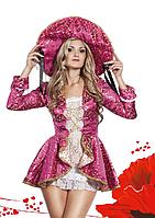 """Костюм """"Маркиза"""" (платье-рубашка, камзол, шляпа), S, M"""