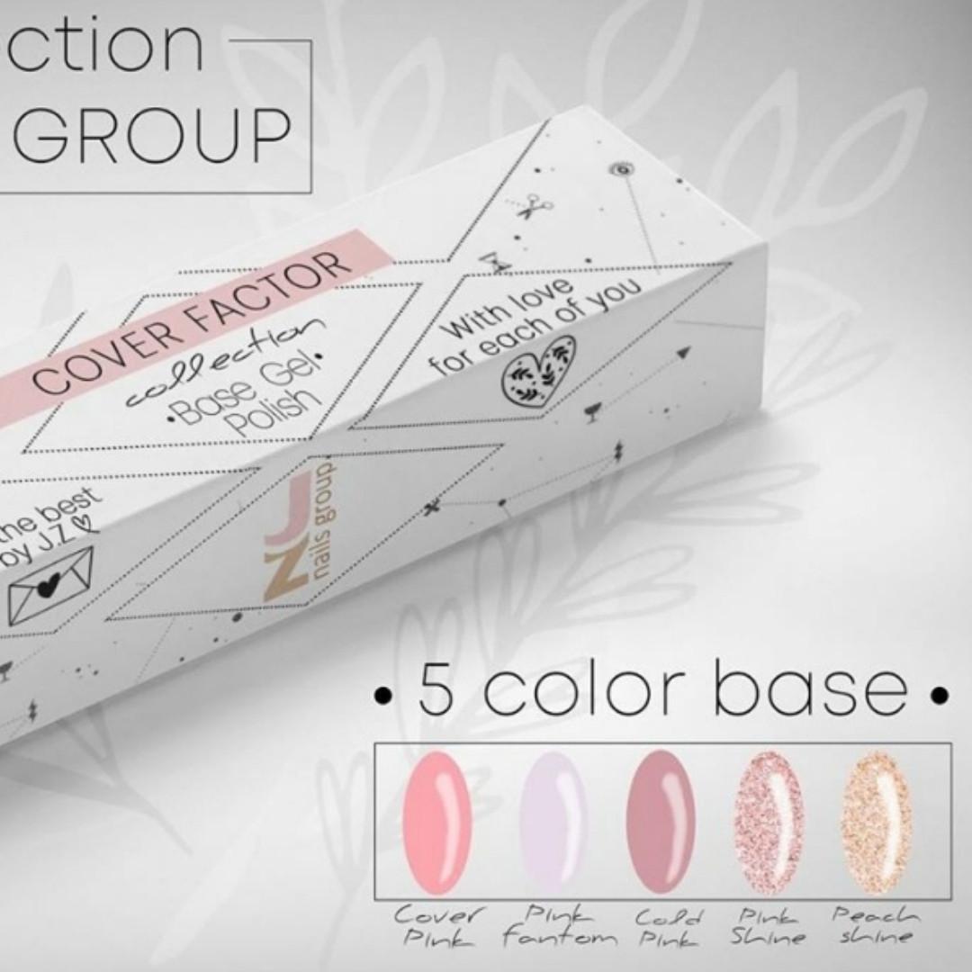 Pink Fantom от JZ Nails Group, 12 ml