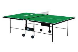 Теннисный стол для помещений GSI-sport Athletic Strong Gk-3 blue /Gp-3 green