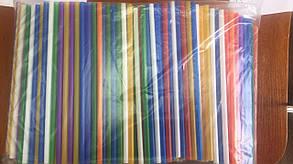 Трубочки (соломка) Фреш (500 шт.) 20см