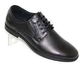 Мужские классические черные туфли из натуральной кожи Kangfu 43 р. - 28 см (1225439831), фото 3
