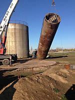 Приемка оборудования в монтаж при строительстве промышленных дымовых и вентиляционных труб, нефтебаз,складских