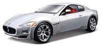 Авто-конструктор Bburago Maserati Gran Turismo (серебристый металлик, 1:24),(18-25083)