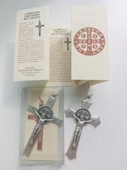 Хрест з медальйоном Бенедикта