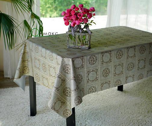 Клеенка на кухонный стол на тканевой основе, фото 2