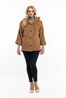 Женская куртка удобная стильная демисезонная большого размера 48, 50, 52, 54, 56, 58, 60 р кофе цвет