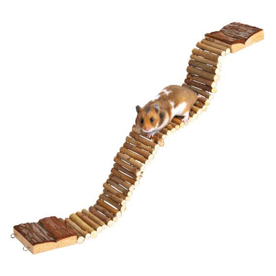 Деревянный мостик подвесной Croci для грызунов 7*55 см