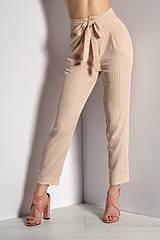 Брюки женские модные бежевые  R&Y 40,42,46,48,50