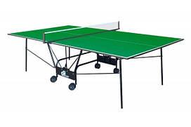 Теннисный стол для помещений GSI-sport Compact Light Gk-4 blue /Gp-4 green