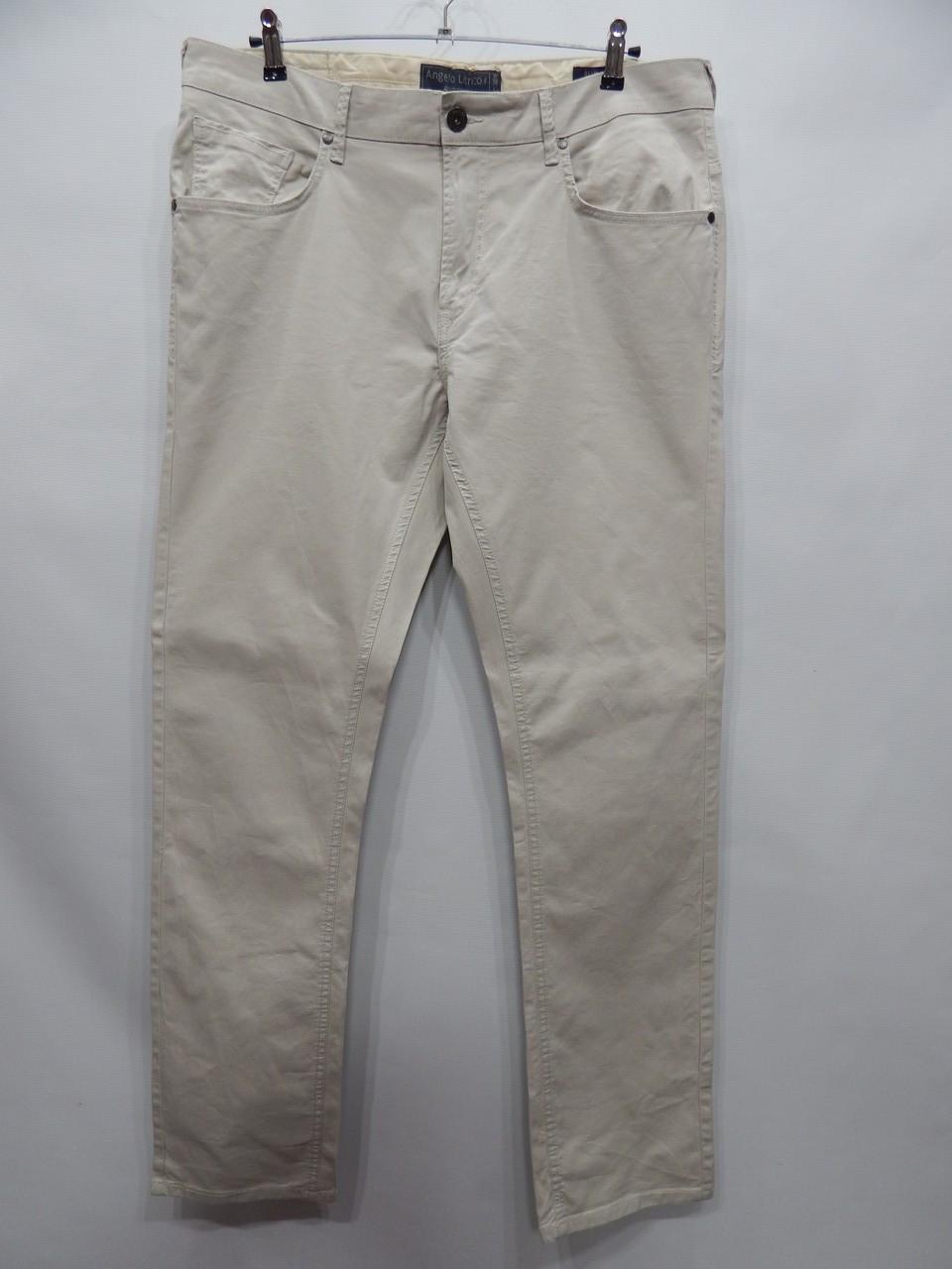 Брюки летние мужские Angelo Litrico slim leg р.52 (38X34) 154DGM