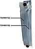Биметаллический Радиатор Koer Maxi 350*120 Чехия (два Конвектора), фото 2
