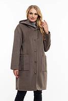 Женская куртка удобная стильная демисезонная большого размера 48, 50, 52, 54, 56, 58, 60. 62 р серый цвет