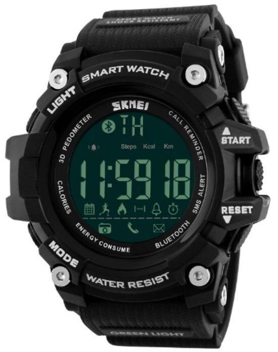 Умные мужские часы, Смарт часы Skmei Smart