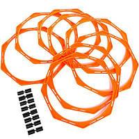 Кольца многофункциональные тренировочные (комплект 8 шт) + сумка, фото 1