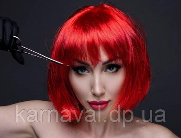 Прокат кольорових перук каре