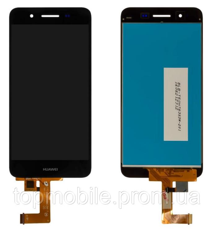 Дисплей Huawei Enjoy 5s/GR3 (TAG-L21/TAG-L01/TAG-L03) + сенсор черный ( модуль, стекло)