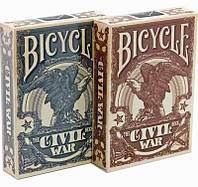 Карты Bicycle Civil War