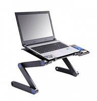 Стол для ноутбука LAPTOP TALBLE T8. Подставка для ноутбука. Столик трансформер для ноутбука., фото 1