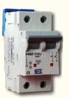 PR 61 J, PR 62 J  - автоматические выключатели