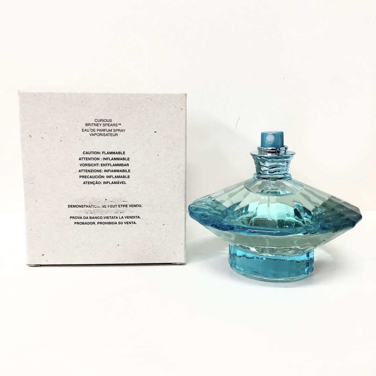 Оригінальний жіночий парфум BRITNEY SPEARS Curious 100ml парфумована вода ТЕСТЕР, ніжний квітковий аромат