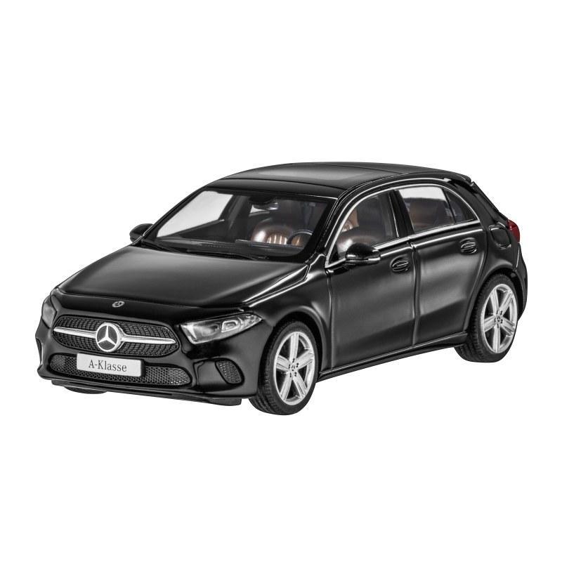 Модель Mercedes-Benz A-Class (W177), Progressive Line, Scale 1:43, Cosmos Black, артикул B66960426