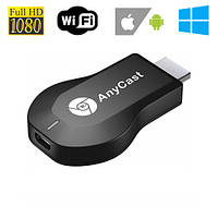 Адаптер донгл Anycast M9 Plus, Wi-Fi, HDMI, Miracast, Airplay, DLNA