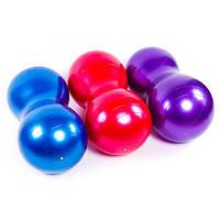 "Мяч фитнес ""арахис"" 45*90 см, GymBall KingLion, цвета в ассортименте"