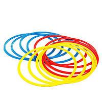 Кольца тренировочные (комплект 12 шт, 3 цвета, 40см) + сумка, фото 1