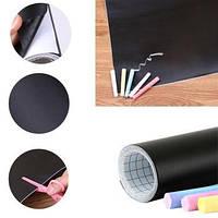 Дошка-стікер для малювання крейдою Black Board Sticker. Мольберт. Дитяче творчість., фото 1