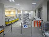 Стеллаж металлический торговый двухсторонний (островной), фото 2