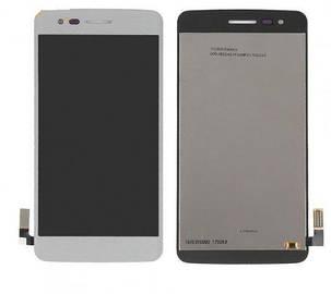 Модуль (сенсор+дисплей) для LG K8 (2017) MS210, M210, M200N, US215 сірий, фото 2