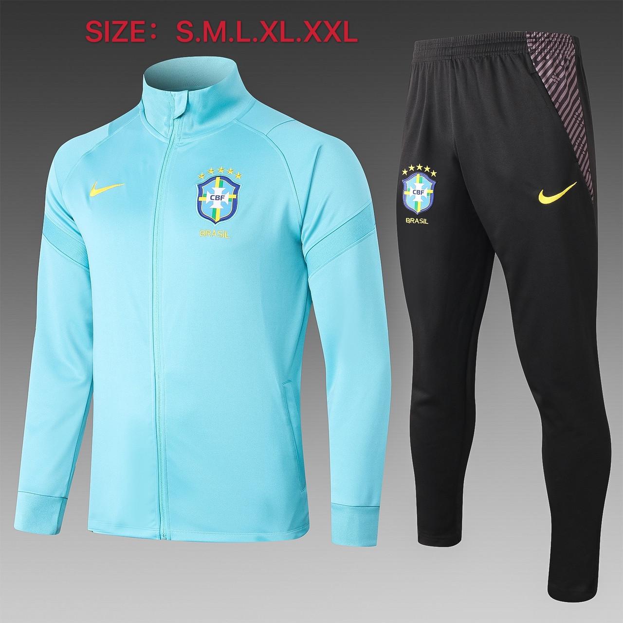 Спортивний тренувальний костюм збірної Бразилії 2020-21рр.