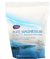 Life-flo, Чистые магниевые хлопья, рассол хлорида магния, 1,65 фунта (26,4 унции)