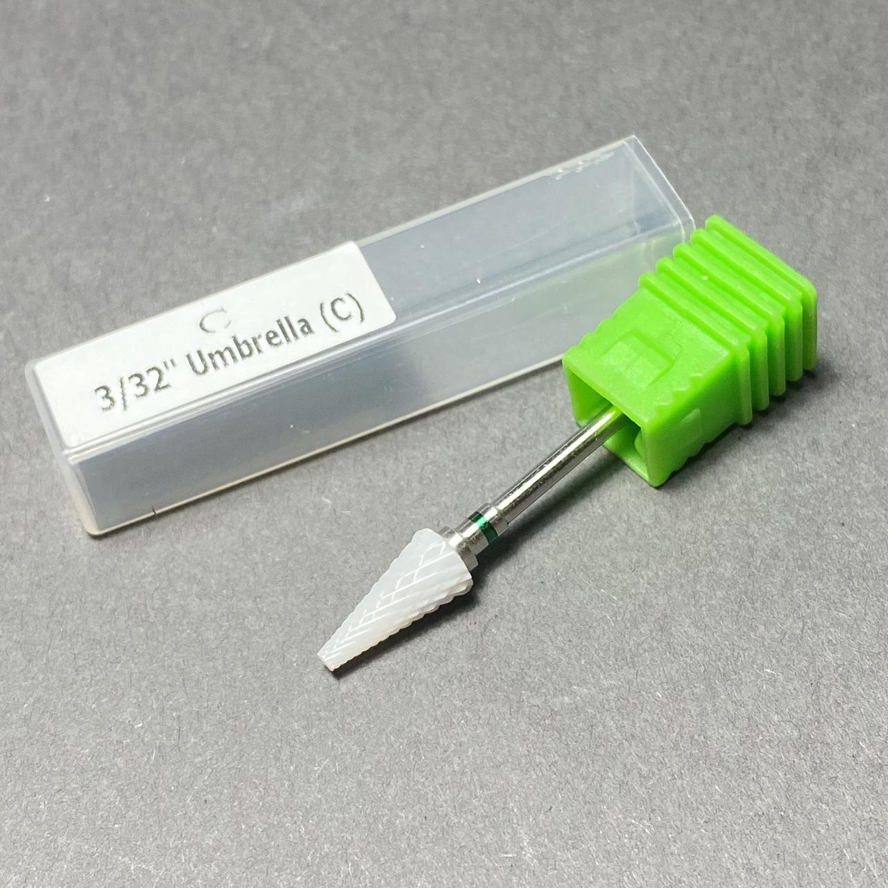 Насадка керамическая для фрезера маникюрного С3/32 зеленая