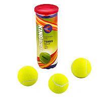 Мяч теннисный King-Becket, желтый (банка 3 шт)