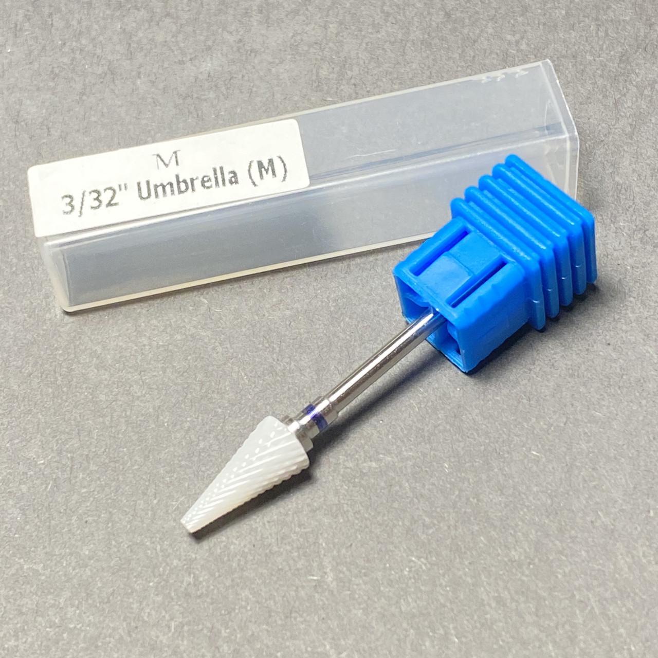 Насадка керамическая для фрезера маникюрного M3/32 синяя