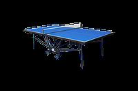 Теннисный стол для помещений GSI-sport Compact Premium Gk-6 blue, фото 1