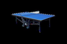 Теннисный стол для помещений GSI-sport Compact Premium Gk-6 blue