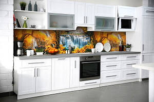 Кухонний фартух вінілова наклейка 600х3000мм