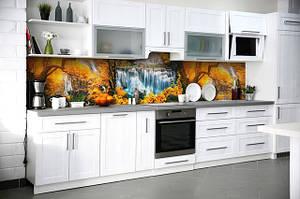 Кухонный фартук виниловая наклейка 600х3000мм