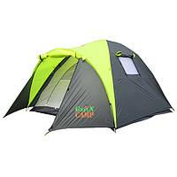 Палатка трехместная для туризма GreenCamp 1011