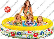 Детский надувной бассейн большой Intex 58449, 173 литра