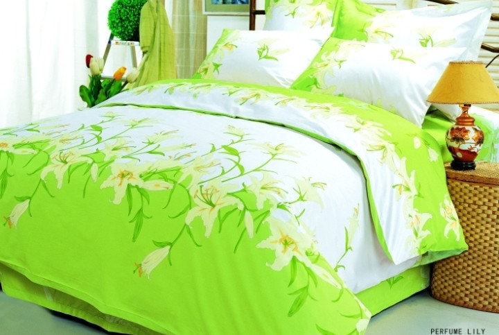 Постельное белье 2-спальное евро LE VELE Perfume Lily