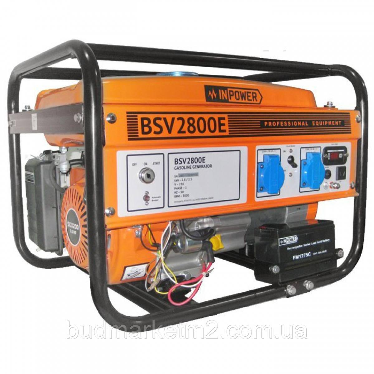 Генератор бензиновый InPower BSV2800E