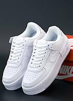 Женские кроссовки Nike Air Force 1 Low (Найк Аир Форс белые)